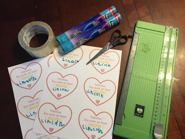 DIY Valentines Supplies