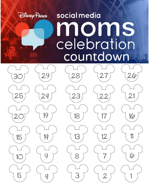 photo about Disney Countdown Calendar Printable referred to as Disney Planet Countdown Calendar - Free of charge Printable!! - The