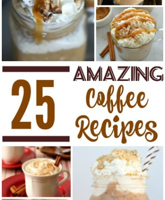 25 Amazing Coffee Recipes