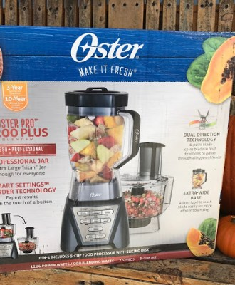 A Milkshake Lovers Dream!! The NEW Oster Pro 1200 Plus Food Processor!!