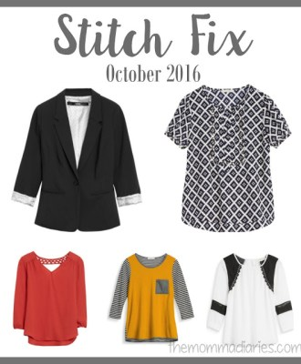 Stitch Fix October 2016