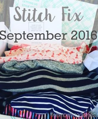 Stitch Fix September 2016