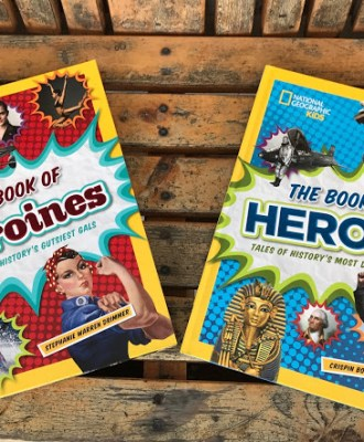 National Geographic Kids: The Book of Heroes & The Book of Heroines – 2016 Holiday Gift Guide Feature & Giveaway!