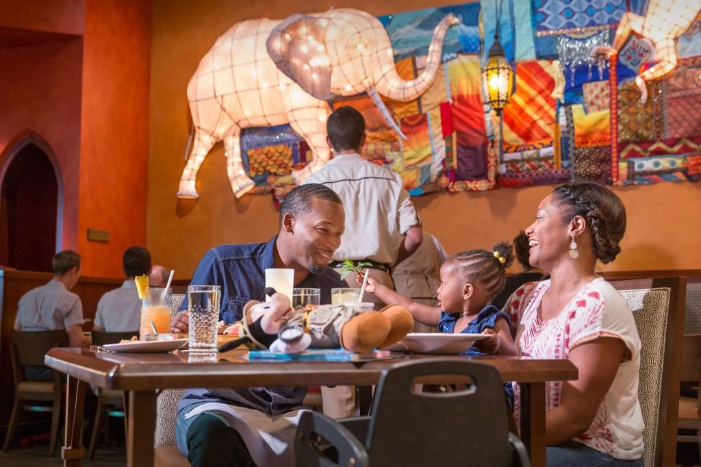 Disney Dining Plan, Tiffins Animal Kingdom