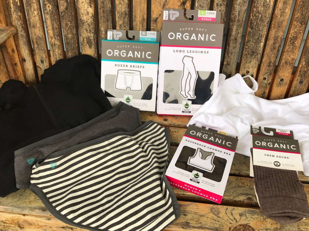 PACT Organic Cotton Clothing
