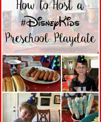 How to Host a #DisneyKids Preschool Playdate!