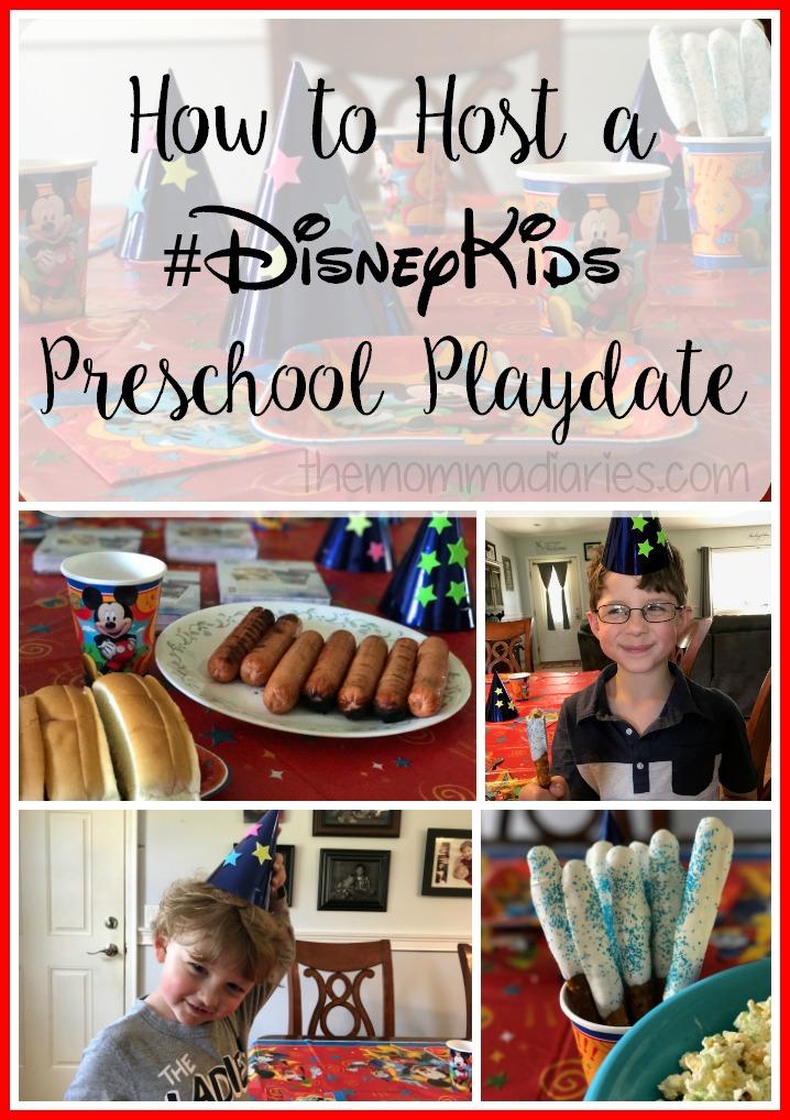 How to Host a #DisneyKids Preschool Playdate
