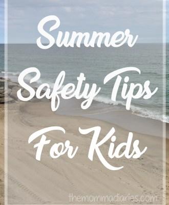 Summer Safety Tips For Kids