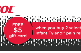 TYLENOL® Gift Card Deal at Target 5/14/17-5/20/17