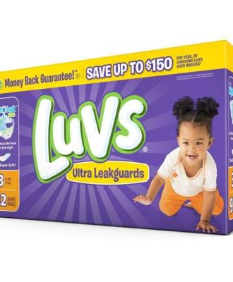 Stock up on Luvs Diapers with this Money-Saving Coupon!