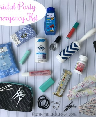 Bridal Party Emergency Kit — with Free Printable!