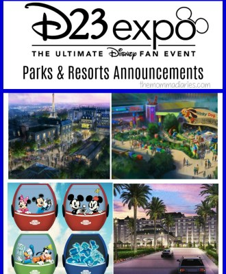 D23 Expo Disney Parks and Resorts Announcements