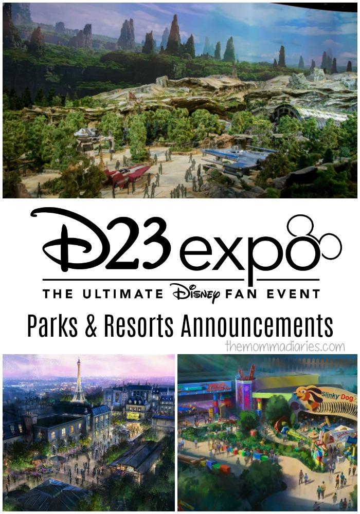 D23 Expo Disney Announcements