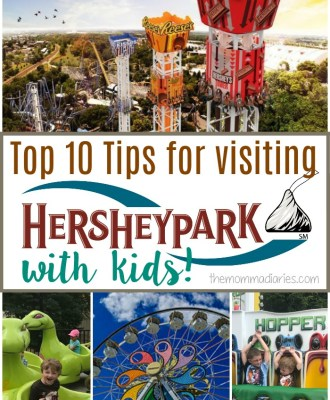 Top 10 Tips for Visiting Hersheypark with Kids
