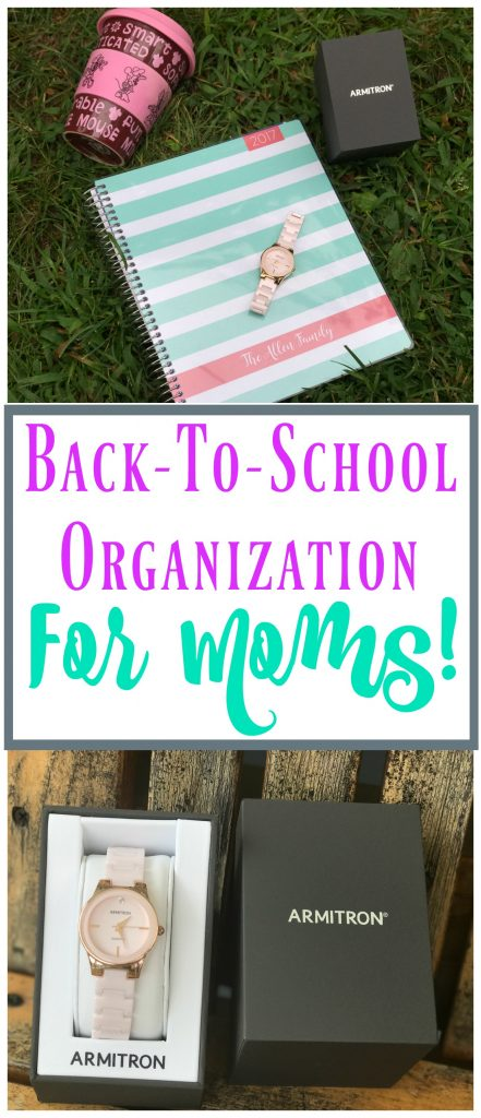 Back to School Organization for Moms, Organization tips for moms, back to school tips
