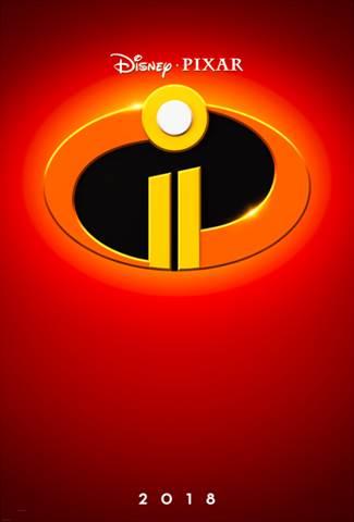 Disney Pixar's Incredibles 2 Poster