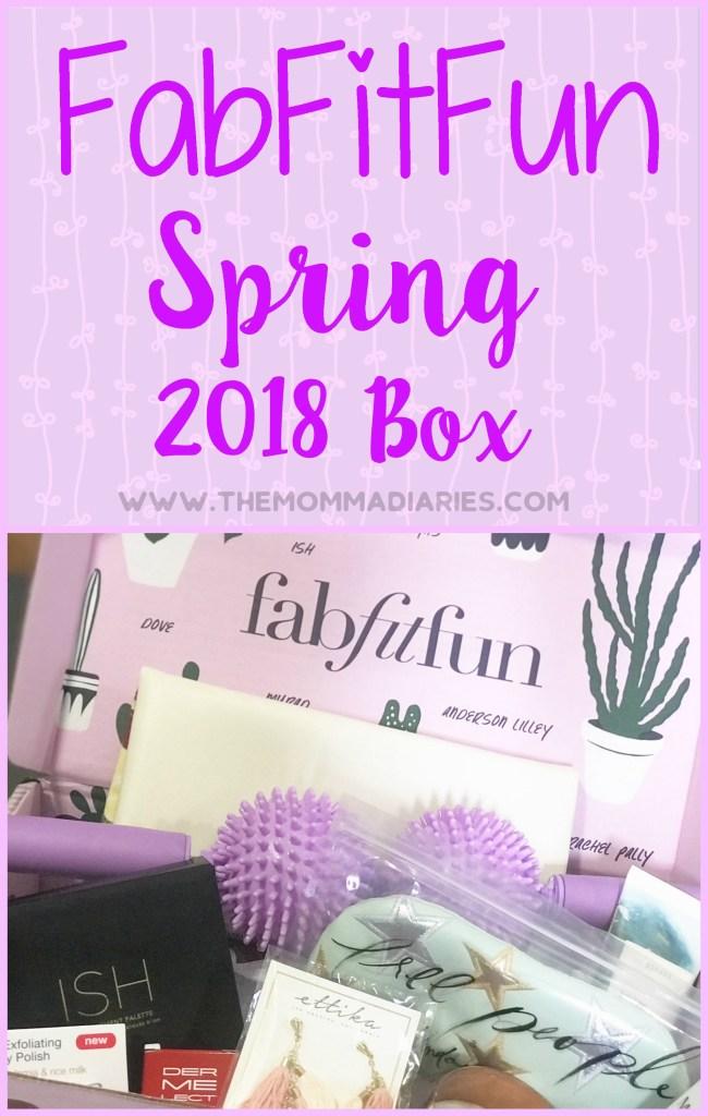 FabFitFun Spring 2018 Box, FabFitFun Box, FabFitFun Spring Box, FabFitFun Promo Code, #FFFPartner, #FabFitFun