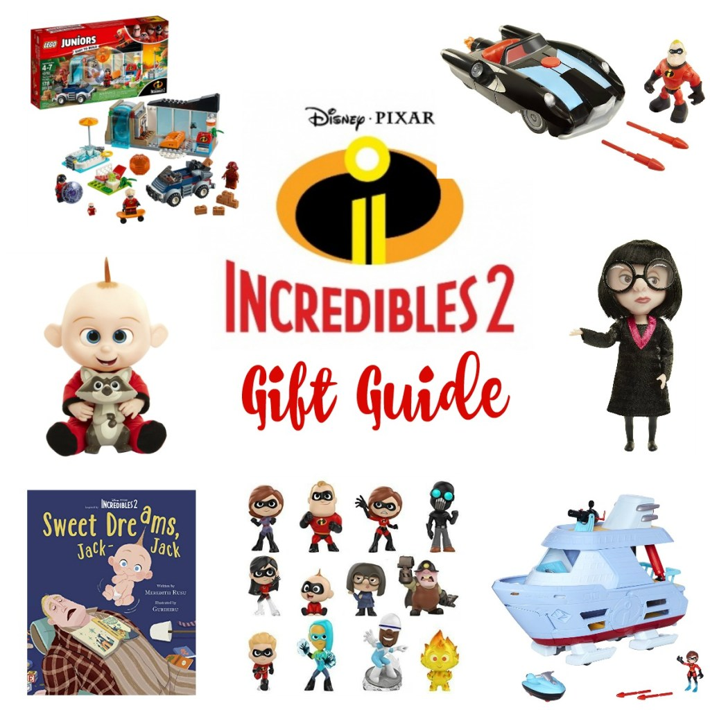 Incredibles 2 Gift Guide, Incredibles 2 Toys, Incredibles 2 Toy Guide, Incredibles 2 must have toys, #Incredibles2