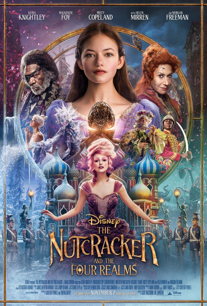 THE NUTCRACKER AND THE FOUR REALMS POSTER, Disney's Nutcracker, #DisneysNutcracker