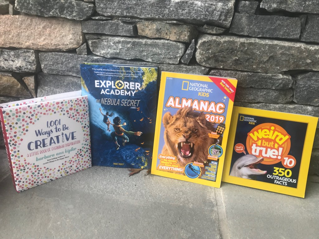 Books for young explorers, books for kids, books for exploring, national geographic kids exploring books