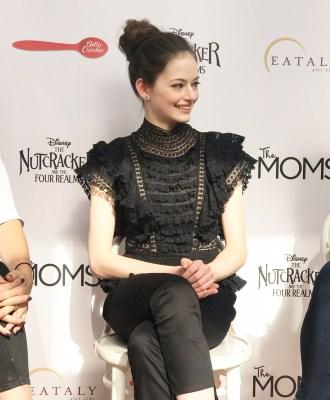 "Mackenzie Foy Interview | ""Clara"" The Nutcracker and the Four Realms #DisneysNutcracker"