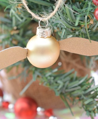 Harry Potter Golden Snitch Ornament