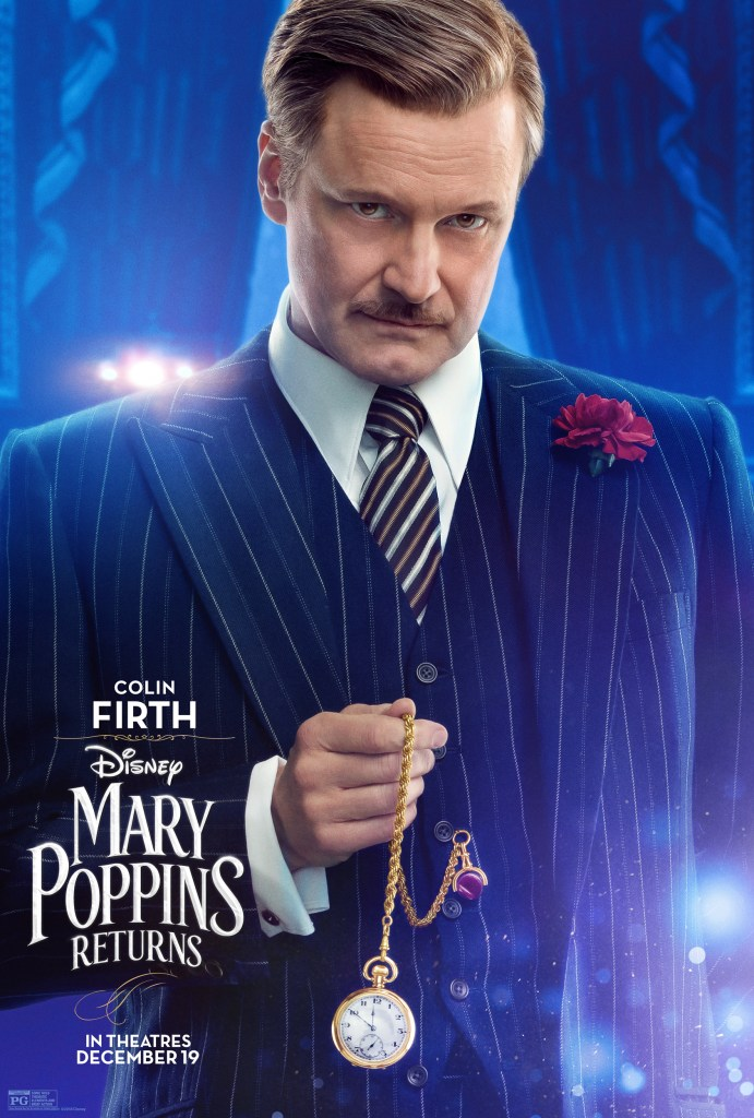 Mary Poppins Returns Character Posters, #MaryPoppinsReturns