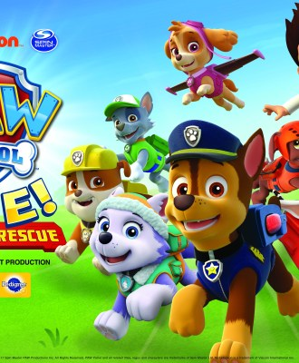 PAW Patrol Live! Providence + Giveaway!
