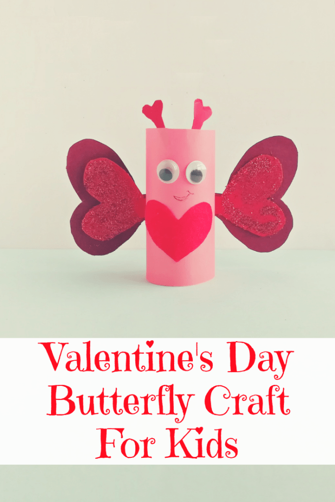 Diy Valentine S Day Butterfly Craft For Kids The Momma Diaries