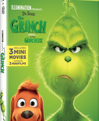 Dr. Seuss' The Grinch Available on Blu-ray & DVD