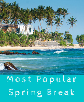 Most Popular Spring Break Destinations