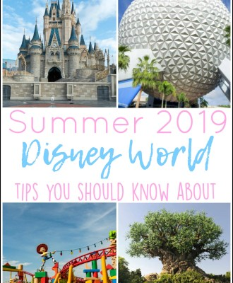 Summer 2019 Disney World Tips You Should Know About