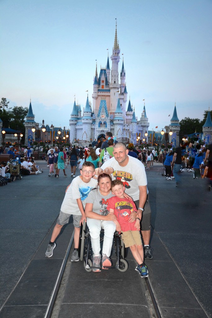 Magic Kingdom Family Photo
