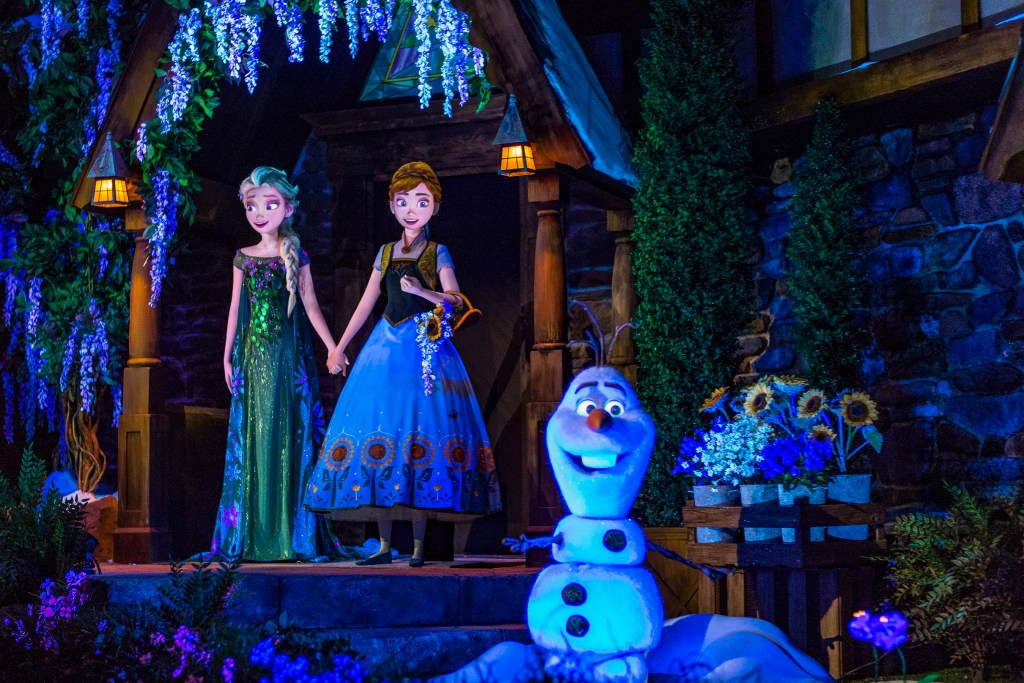 Frozen Ever After Ride in Epcot World Showcase Norway