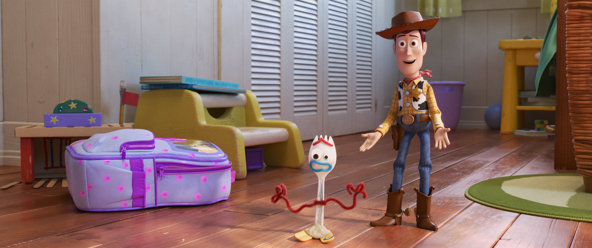 Woody and Forky #ToyStory4