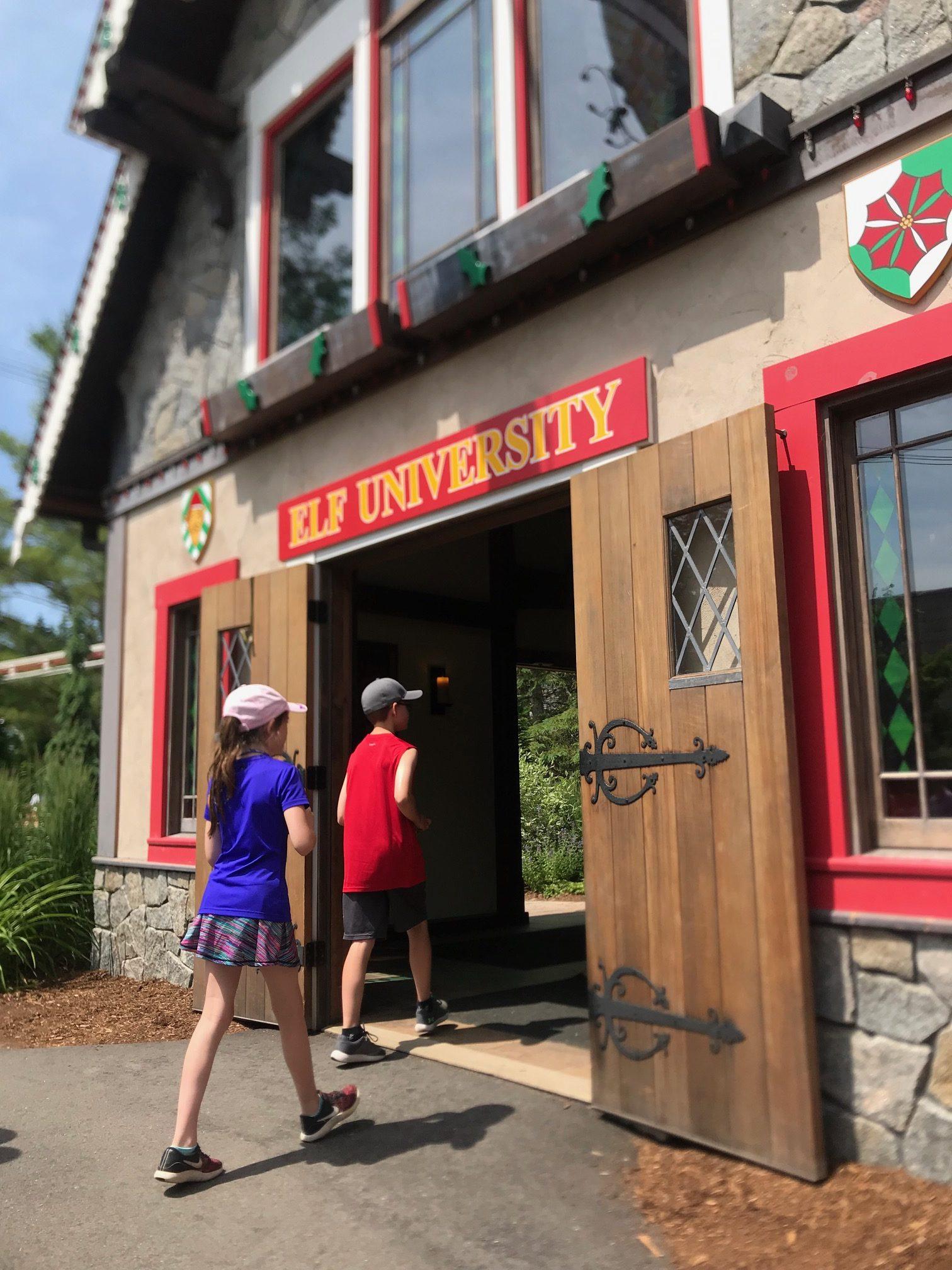 Elf University at Santa's Village