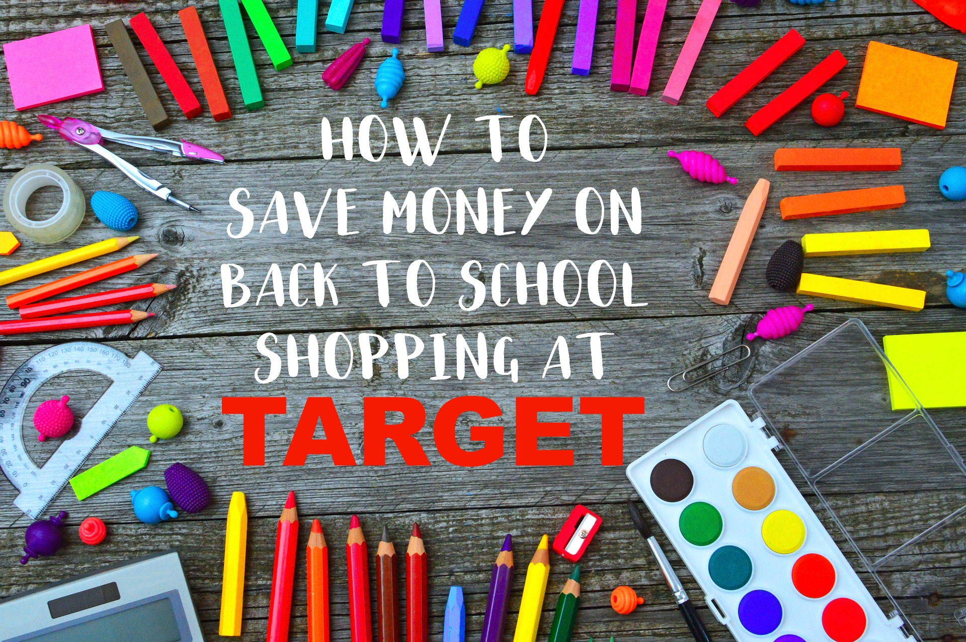 How to save money on back to school shopping at target, back to school shopping savings, #backtoschool