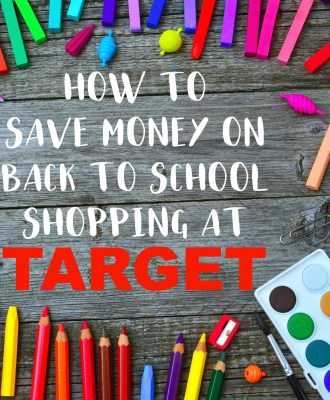 How To Save Money On Back To School Shopping At Target