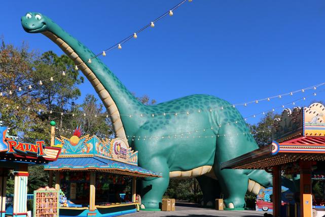 Dinoland U.S.A Disney's Animal Kingdom Park