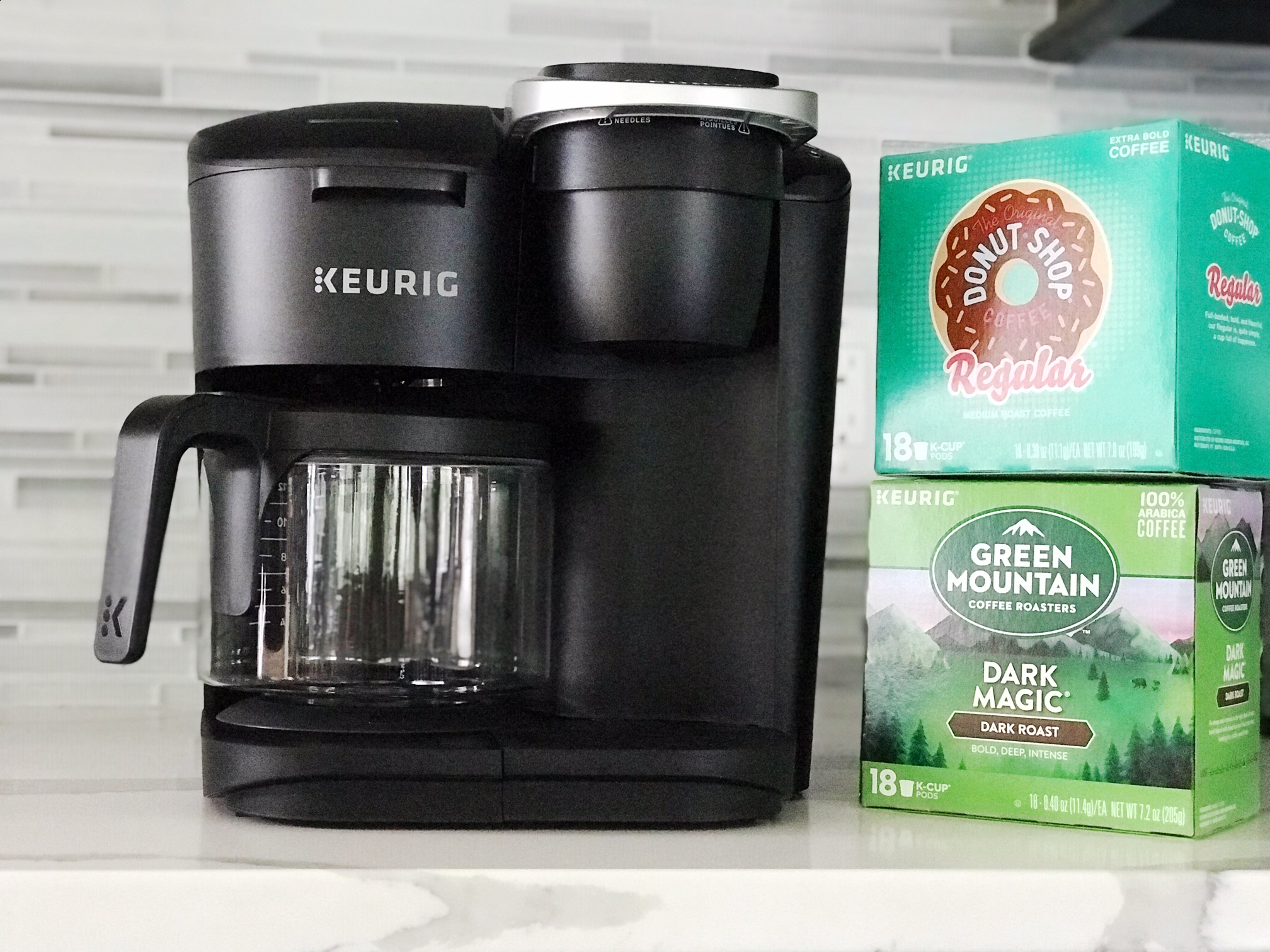 K-Duo with Carafe and K-Cups