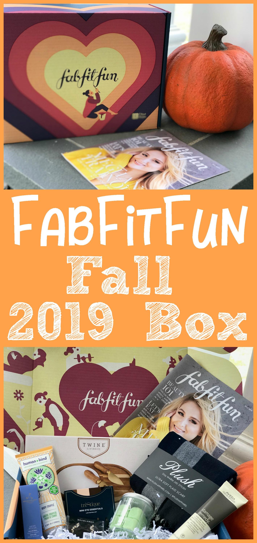 FabFitFun Fall 2019 Box, #FabFitFun #FabFitFunPartner #FFFPartner