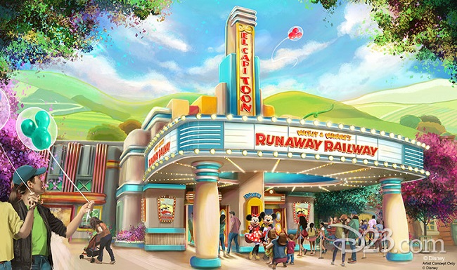 Mickey and Minnie's Runaway Railway, Disney World 2020