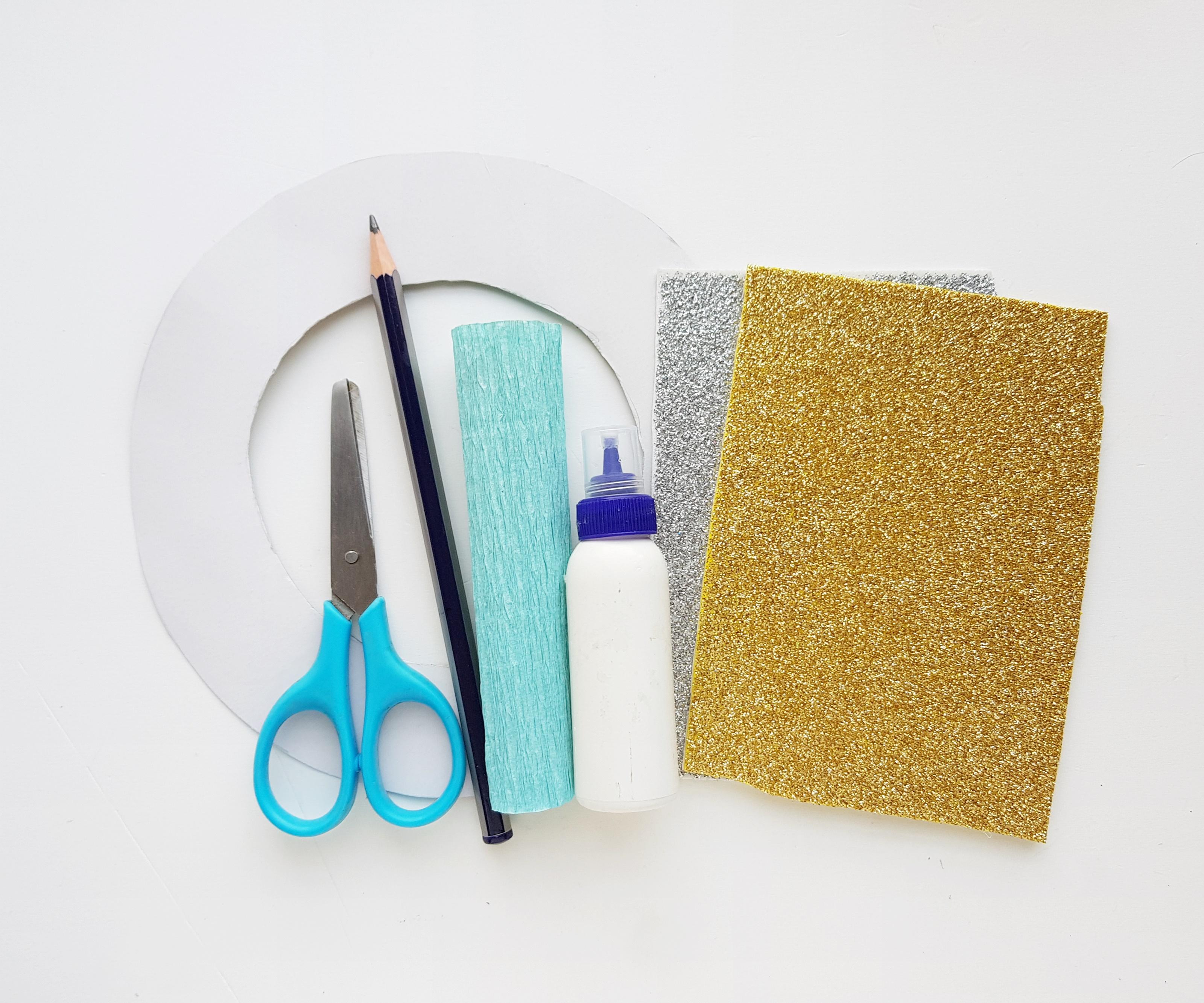 Frozen inspired craft supplies