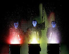 Blue Man Group Rocks the House