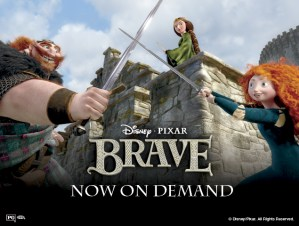 Holiday Guide-BRAVE On Demand Giveaway