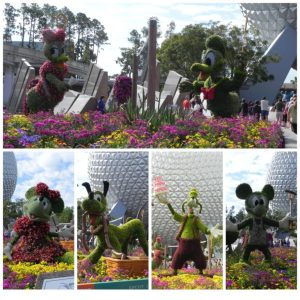 Mouse House Memories-Flower and Garden Festival Topiaries