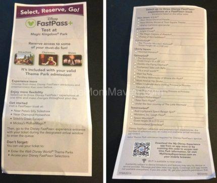 FastPass+ Flyer MK TheMomMaven.com