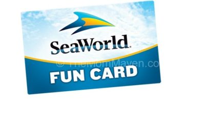 SeawWorld Fun Card
