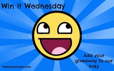 Win It Wednesday TheMomMaven.com