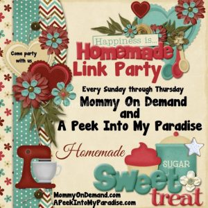 Happiness is Homemade Linky Party